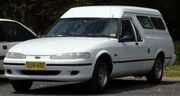 1996-1997 Ford XH Falcon Longreach panel van 02
