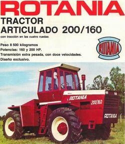 Rotania 200-160 4WD brochure