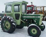 White 1270 (green) w cab