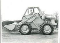 A 1970s BRAY 455T 4WD Diesel Loader