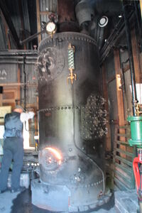 Vertial boiler at BCLM 2010 - IMG 1344