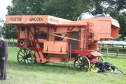 Foster threshing machine at Harewood 08 - IMG 0509