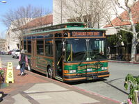 Walnut Creek Gillig Trolley
