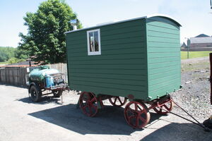 Aveling & Porter living van at BCLM - IMG 1318
