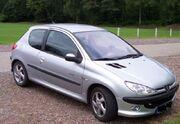 Peugeot 206 front