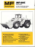 MF 66c wheel loader