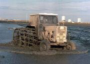 Tractor fanguejant
