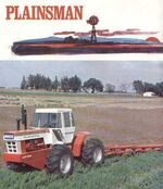 White A4T-1400 Plainsman 4WD brochure (red) - 1970