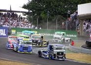 Formula Truck 2006 Interlagos Volkswagen leads
