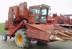 White 545 combine