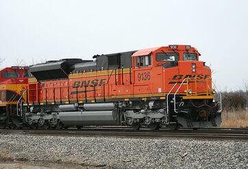 BNSF SD70ACe