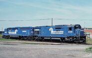 ALCO C636 and EMD SD45-2