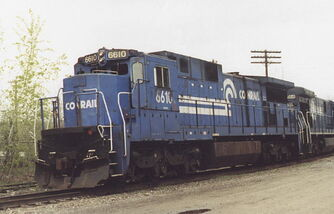 Conrail C32-8 2