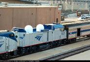 Amtrak NPCU without Roof