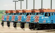 Metra F40PH fleet