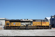 UP 8394 Tier 4 Testing SD70ACe