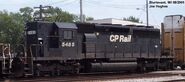 NS-painted CP SD40-2