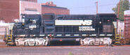 NS GP15-1 with Silver Trucks