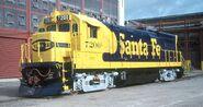 ATSF 7200 SF30B