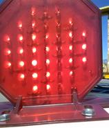 Union Pacific L.E.D. gate light octagon shaped gate light 03
