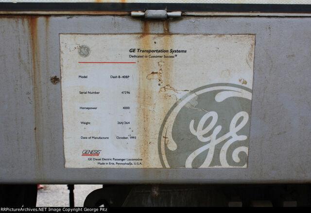 File:Amtrak 828 Plate.jpg