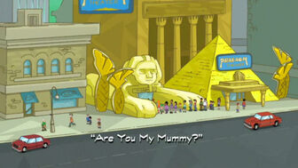 Are You My Mummy title card