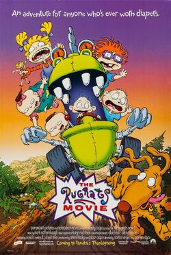 Paramount and Nickelodeon's The Rugrats Movie - Theatrical Poster