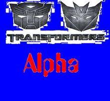 Transformers Alpha