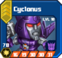 D R Sol - Cyclonus box 18