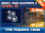 M wave7 lev19 boost your warriors ii
