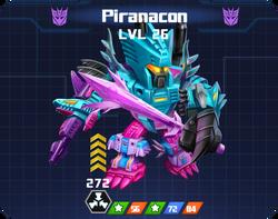 D E Com - Piranacon pose