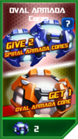 P oval armada core armada 5 requiem