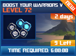 M wave6 lev72 boost your warriors v
