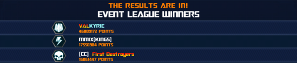 Event Lord Starscream League Winner