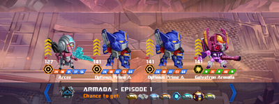 T armada episode 1 x optimus prime a x