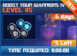 M wave3 lev45 boost your warrior iv