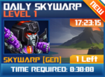 M wave2 lev1 daily skywarp