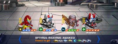 T optimus maximus awake rodimus cw prowl cw xx2