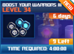 M wave8 lev34 boost your warriors iii