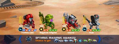 T optimus maximus awake ironhide cw xxx