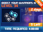 M wave6 lev34 boost your warriors iii