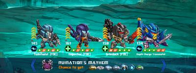T ruinations mayhem twintwist impactor xx