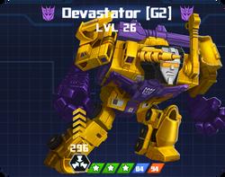 D E Com - Devastator G2 pose