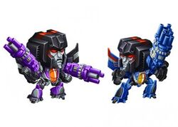 Skywarp & Thundercacker Missions