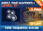 M wave5 lev17 boost your warriors i