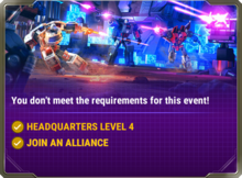 Ui event charging in requirement d