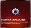 Ui research unavailable