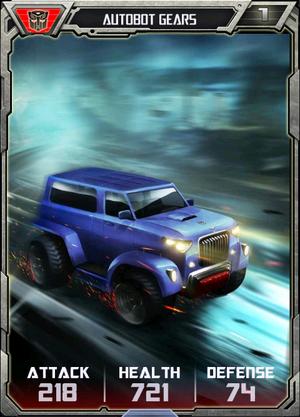 (Autobots) Autobot Gears - Alt