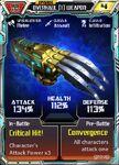 Overhaul (1) Weapon