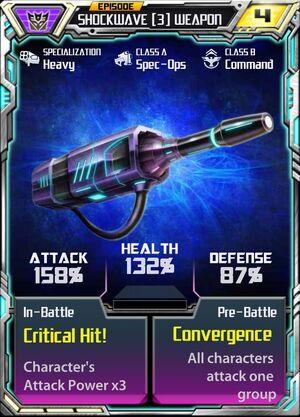 Shockwave (3) Weapon